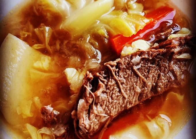 Instant Pot Beef Nilaga