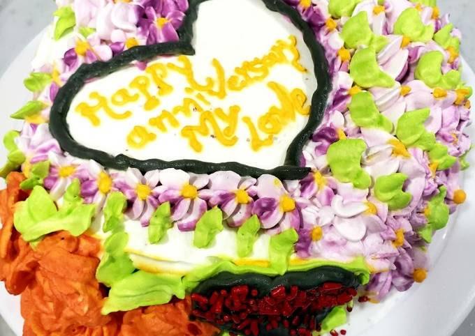 Pineapple lemon zest cake