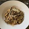 mushroom risotto with optional truffle oil recipe main photo