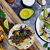 slow cooker lamb tacos with mint relish and spicy aioli recipe main photo