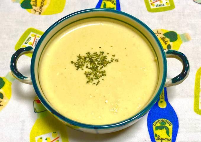 Corn & Sweet Potato Rich Cold Potage Soup