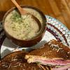 cream of mushroom broccoli soup recipe main photo
