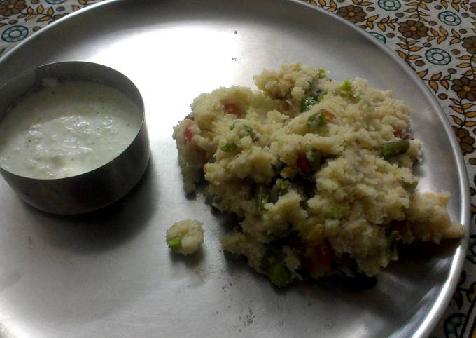 Upama and chutney -Typically Indian