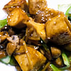 tofu and mushrooms in ginger and oyster sauce recipe main photo