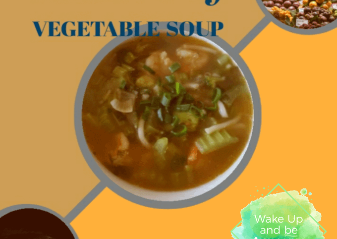 Prawn and vegetable soup