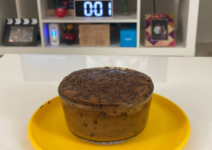 Instant healthy dark chocolate cake