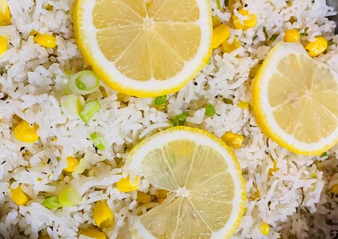 Herb lemon fried rice