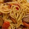 one pot cheesy andouille pasta recipe main photo