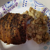 seasoned bacon wrapped crock pot pork loin recipe main photo