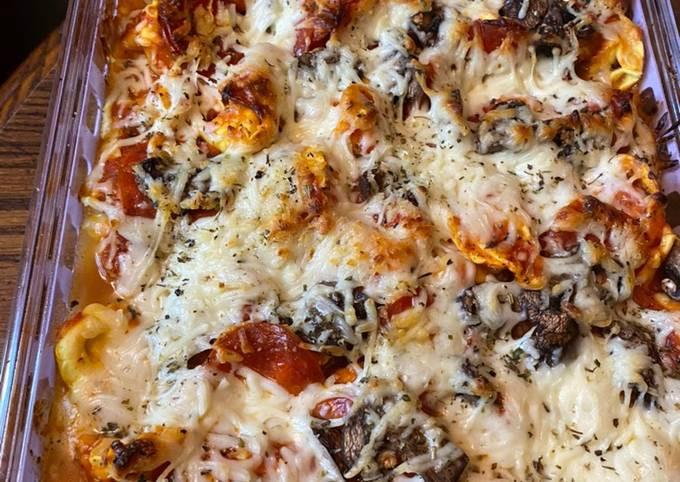 BAKED pizza TORTELLINI