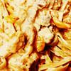 leftover salmon mushroom fettuccine alfredo recipe main photo