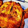 air fryer whole chicken rotisserie style recipe main photo