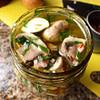 marinated mushrooms recipe main photo