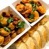 tapas x 2 garlic and ham mushrooms spicy prawns recipe main photo