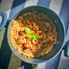 porcini risotto with shrimps and mushrooms recipe main photo