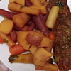 quick easy rainbow pork pot roast recipe main photo