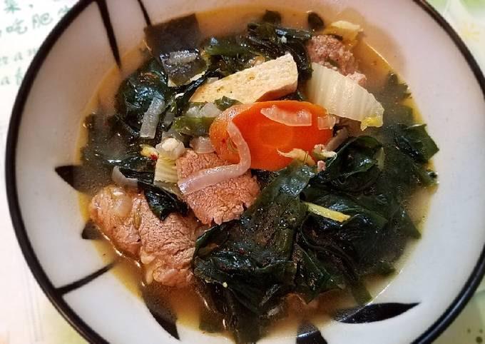 Seaweeds soup *Instant Pot Max*#mommasrecipes