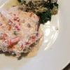 crab meat with mushrooms recipe main photo