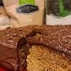 whole wheat vanilla cake with chocolate frosting recipe main photo