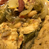 Crockpot Zesty 2-Bean Shredded Chicken Chili