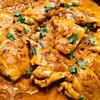 creamy saffron chicken recipe main photo