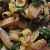 shells with spinach and mushrooms recipe main photo