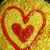 instant noodle cake recipe main photo