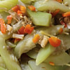 sauteed bottle gourd recipe main photo