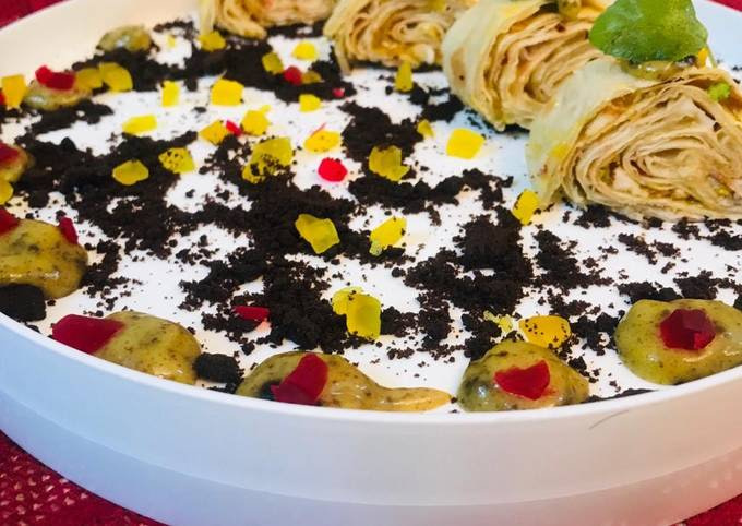 Turkey Tortilla Rolls In Indian Style