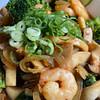 eringi エリンギ mushroom prawns broccoli in sweet oyster sauce recipe main photo