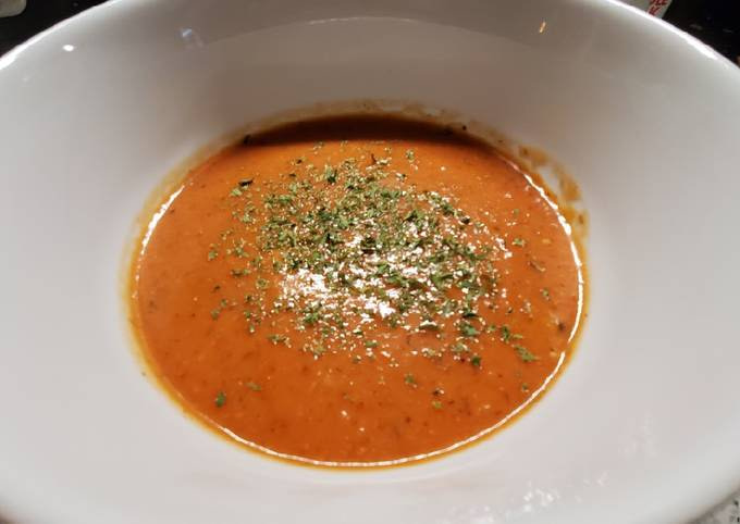 My Easy Homemade Tomato Soup