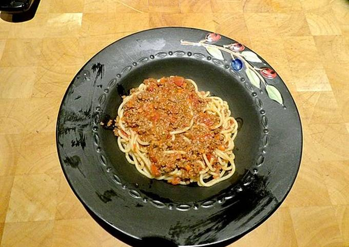 Quick Mock Bolognese Sauce
