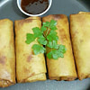 spring rolls with homemade spring roll wrappers recipe main photo