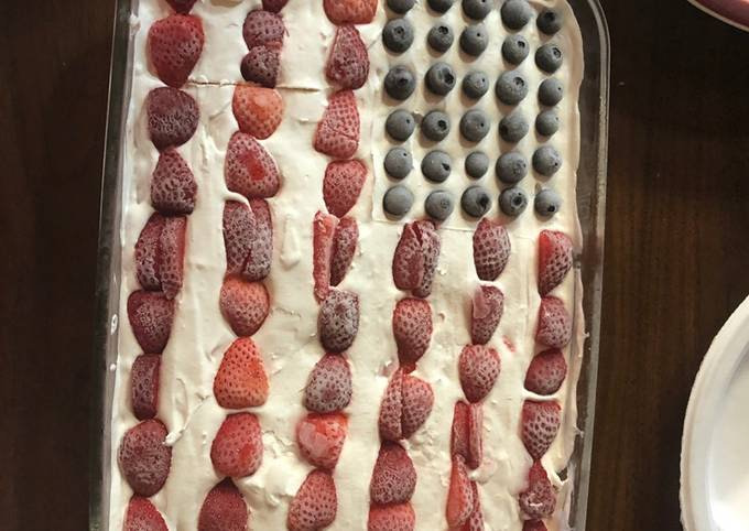 4th july short cake