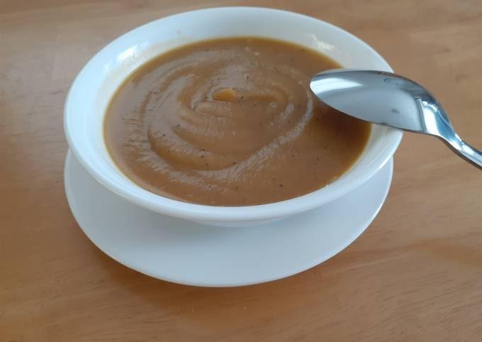 Vegan Potato Soup (Crohns-friendly)