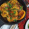 spicy zaatar honey citrus chicken thighs recipe main photo