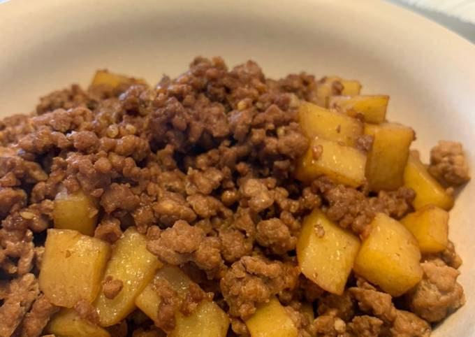 Chinese Style Mince Pork Potato