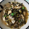 pickled turnip chicken noodle soup雪菜鸡丝米线 recipe main photo 1