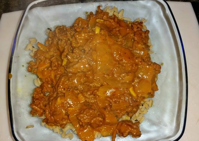 Easy Indian Style mild curry
