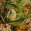 alkaline zucchini veggie mushroom bowl recipe main photo