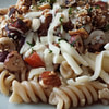pasta with beef mince and roasted nuts recipe main photo