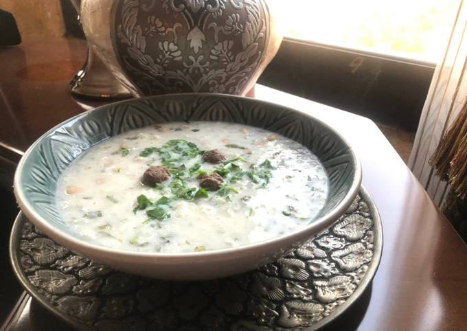 Ash Dough (Persian Thick Soup)