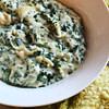instant pot artichoke and spinach dip applebees copycat recipe main photo