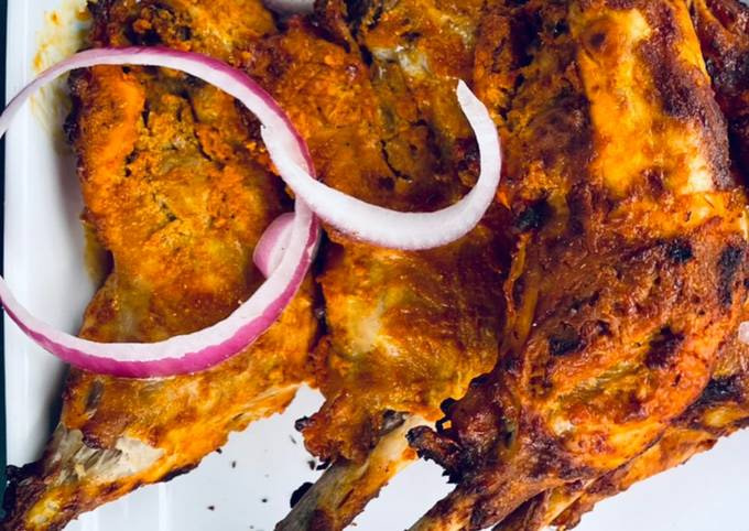 Air Fryer Tandoori Chicken 🍗