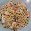 三菇海鲜意大利面 trio mushrooms seafood linguine recipe main photo