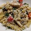 chicken and mushroom pasta in parmesan sauce recipe main photo