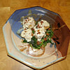 seared scallops with wine cream sauce on wilted spinach recipe main photo