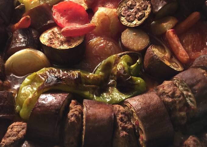 Baked Eggplant Kabab