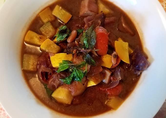 Duenjang Summer Veggies Soup *Instant Pot Max