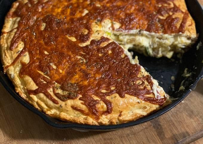 Beef Bacon & Brussels Pot Pie